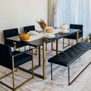 Brass Dining Range
